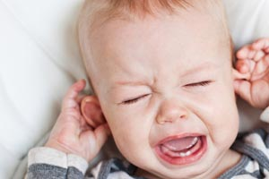 דלקת אוזניים אצל תינוקות